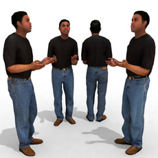 3d Model - Casual Male #10 3D Model