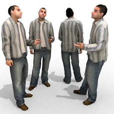 3d Model - Casual Male #11a 3D Model