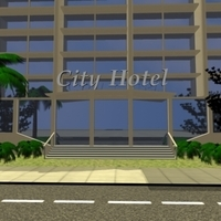 High Definition And textured Realistic City 3D Model
