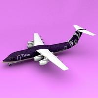BAe-146 Titan 3D Model