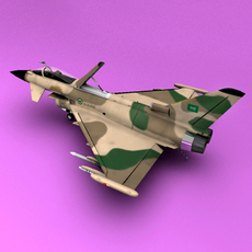 Typhoon Saudi Arabia 3D Model
