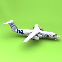 BAE-146 Flybe 3D Model