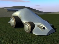 Pierre Concept Car 3D Model
