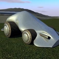 Pierre Concept Car 3D Model