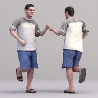 aXYZ design - CMan0016-Ru / 3D Human for superior visualizations 3D Model