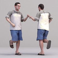 aXYZ design - CMan0016-Ru / 3D Human for superior visualizations 3D Model