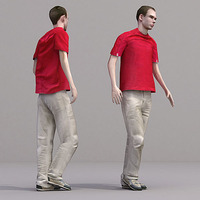 aXYZ design - CMan0017-Wa / 3D Human for superior visualizations 3D Model