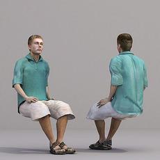aXYZ design - CMan0018-Se / 3D Human for superior visualizations 3D Model