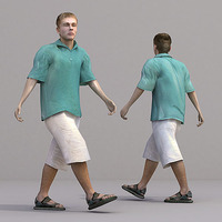 aXYZ design - CMan0018-Wa / 3D Human for superior visualizations 3D Model