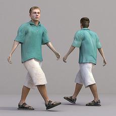 aXYZ design - CMan0018-Wa / 3D Human for superior visualizations 3D Model