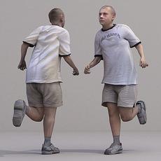 aXYZ design - CMan0020-Ru / 3D Human for superior visualizations 3D Model