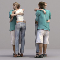 aXYZ design - CWom0019-St / 3D Human for superior visualizations 3D Model