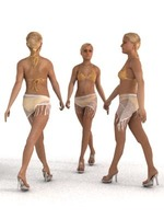 aXYZ design - SWom0002-Wa / 3D Human for superior visualizations 3D Model