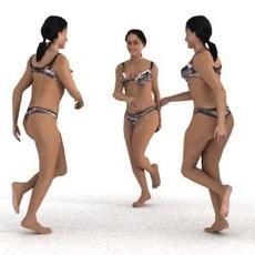 aXYZ design - SWom0004-Ru / 3D Human for superior visualizations 3D Model