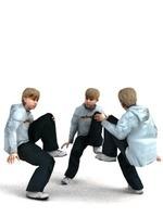 aXYZ design - CBoy0001-Se / 3D Human for superior visualizations 3D Model