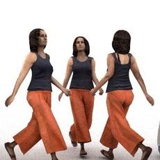 aXYZ design - CWom0014-Wa / 3D Human for superior visualizations 3D Model