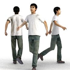 aXYZ design - CMan0010-Wa / 3D Human for superior visualizations 3D Model