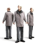 aXYZ design - CMan0004-St / 3D Human for superior visualizations 3D Model