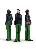 aXYZ design - CWom0004-St / 3D Human for superior visualizations 3D Model