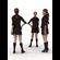 aXYZ design - BWom0009-St / 3D Human for superior visualizations 3D Model