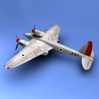 mosquito Israel 3D Model