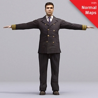 aXYZ design - AMan0005-TP / 3D Human for superior visualizations 3D Model