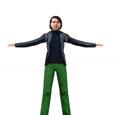 aXYZ design - CWom0004-TP / 3D Human for superior visualizations 3D Model