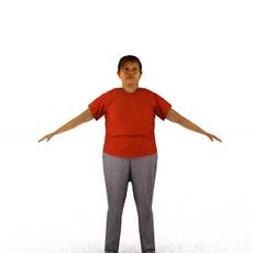 aXYZ design - CWom0006-TP / 3D Human for superior visualizations 3D Model