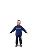 aXYZ design - CBoy0003-TP / 3D Human for superior visualizations 3D Model