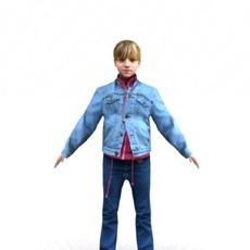 aXYZ design - CGirl0002-TP / 3D Human for superior visualizations 3D Model