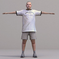 aXYZ design - CMan0020-TP / 3D Human for superior visualizations 3D Model