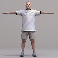 aXYZ design - CMan0020-TP / 3D Human for superior visualizations 3D Model