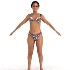 aXYZ design - SWom0004-TP / 3D Human for superior visualizations 3D Model