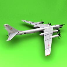 Tu-95 3D Model