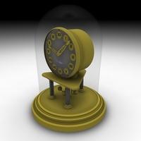 Mantlepiece Clock 3D Model