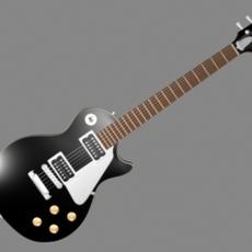 Gibson Les Paul Guitar 3D Model