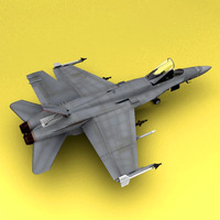 F-18 Australia Air Force 3D Model