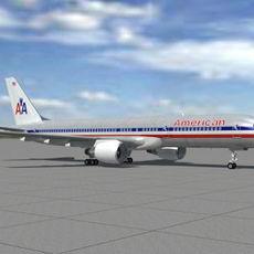 B-757-200-AA 3D Model