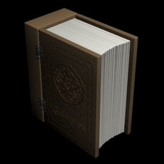 Book of Shadows 3D Model