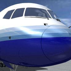 B-757-200-United 3D Model