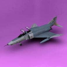 F-4E 3D Model