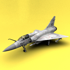 Mirage 2000 Taiwan 3D Model