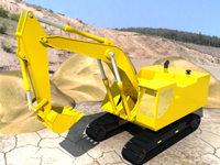 Escavator 3D Model
