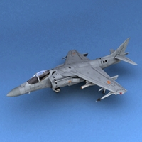 AV-8 Spanish 3D Model