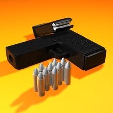 Pirates pistol 3D Model