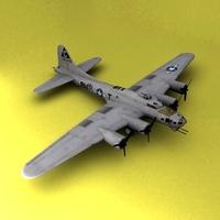 B-17 3D Model