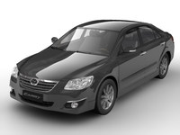 2007 Toyota Camry (Japan version) 3D Model