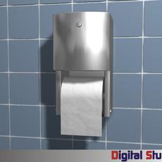Toilet Paper Dispenser 3D Model