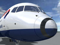 B-757-200-British.zip 3D Model