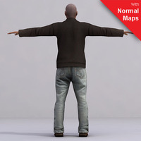 aXYZ design - CMan0021-FBX / FBX Rigged Models for Motionbuilder 7.0 FBX 3D Model